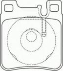 Bremžu kluči MOTECH 330799 FDB799 Mersedes
