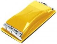 TOPEX Sanding block 85x165mm ar metalu