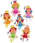 Bino Grāmatzīme Fairy, 9986642