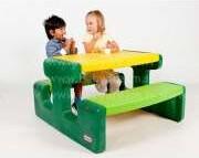 Little Tikes Bērnu piknika galds Evergreen