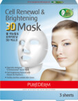 PUREDERM Cell Renewal&Brightening 3D mask �