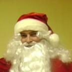 Cepure Ziemassvētku Salaveča sarkanas samta ar